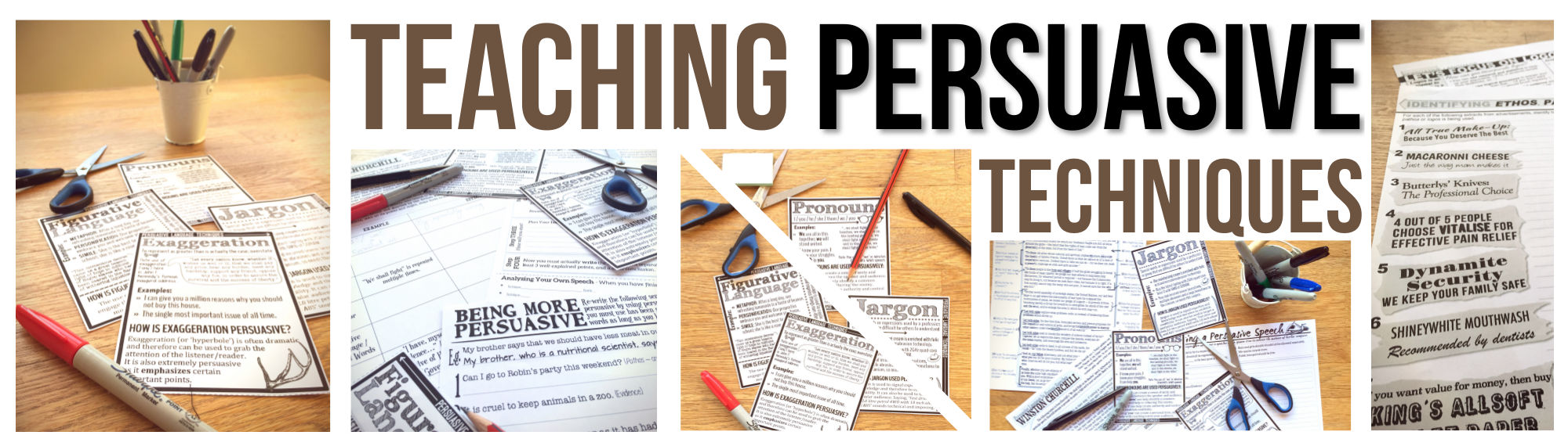 Teaching Persuasive Techniques - Stacey Lloyd Teaching
